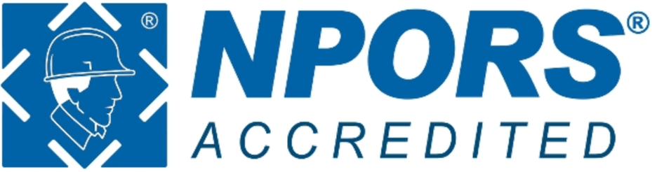 NPORS Accredited logo